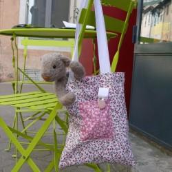 Kit Mon premier Tote Bag Rose