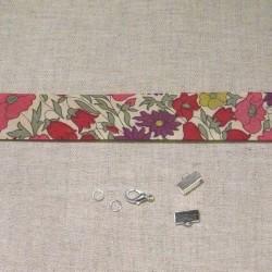 Kit bracelet Liberty Poppy Daisy rose