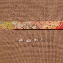 Kit bracelet Liberty Mauvey rose