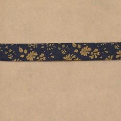 Biais Liberty Capel bleu