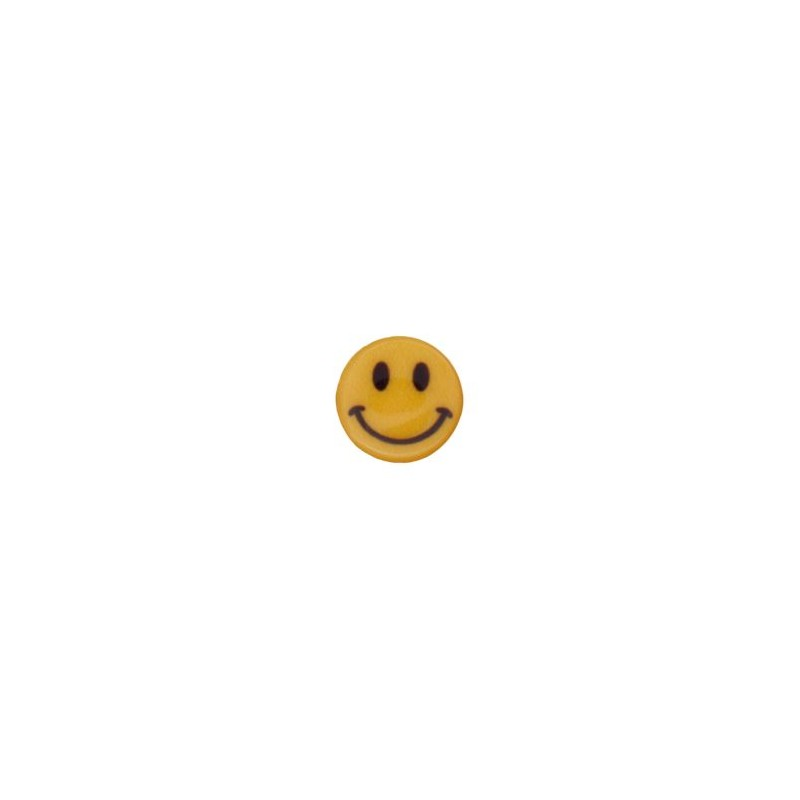 Bouton smiley sourire