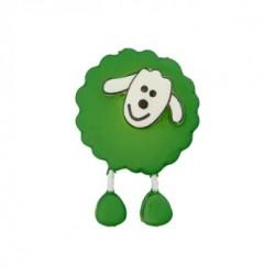 Bouton Mouton vert