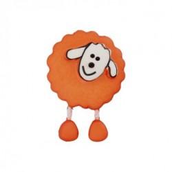 Bouton Mouton roux