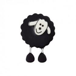 Bouton  Mouton noir