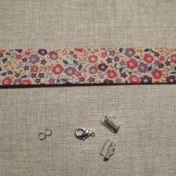 Kit bracelet Liberty Faiford rose