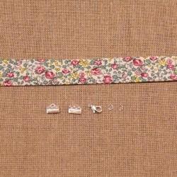 Kit bracelet Liberty Eloise rose et vert