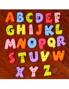 Boutons alphabet